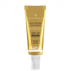Histomer HISTAN SUN ACTIVE PROTECTION FACE TREATMENT SPF20, Солнцезащитный крем SPF 20 для лица 50 мл