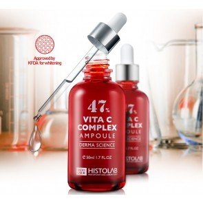 HistoLab DERMA SCIENCE КОНЦЕНТРАТ № 47 С ВИТАМИНОМ С (VITA C COMPLEX AMPOULE 47) 50 мл    409