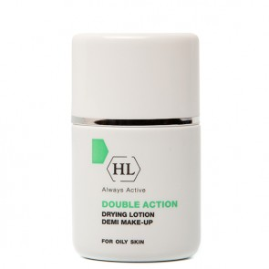 Holy Land DOUBLE ACTION DRYING LOTION DEMI MAKE-UP Суспензия для дезинфекции и подсушивания воспалительных элементов 30 мл